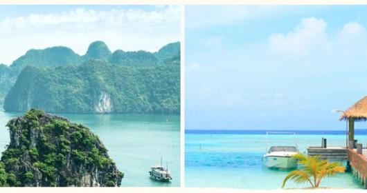 Sorteo Vietnam y Maldivas