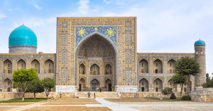 Uzbekistan temples