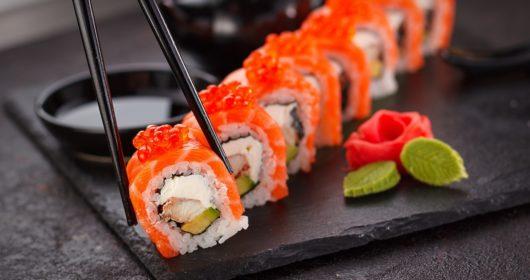 Internationalen Sushi-Tag