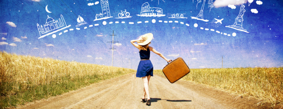 Reisende Frauen