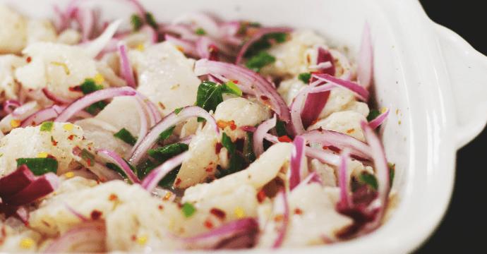 Leckeres Rezept für Ceviche