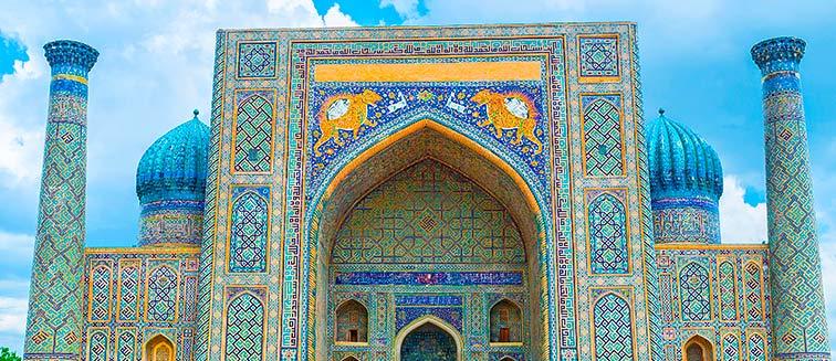 Die Beste Reisezeit für Usbekistan