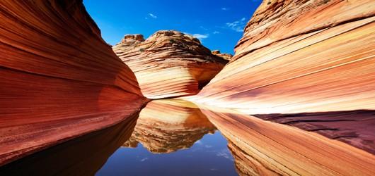 Reflections at The Wave, Arizona