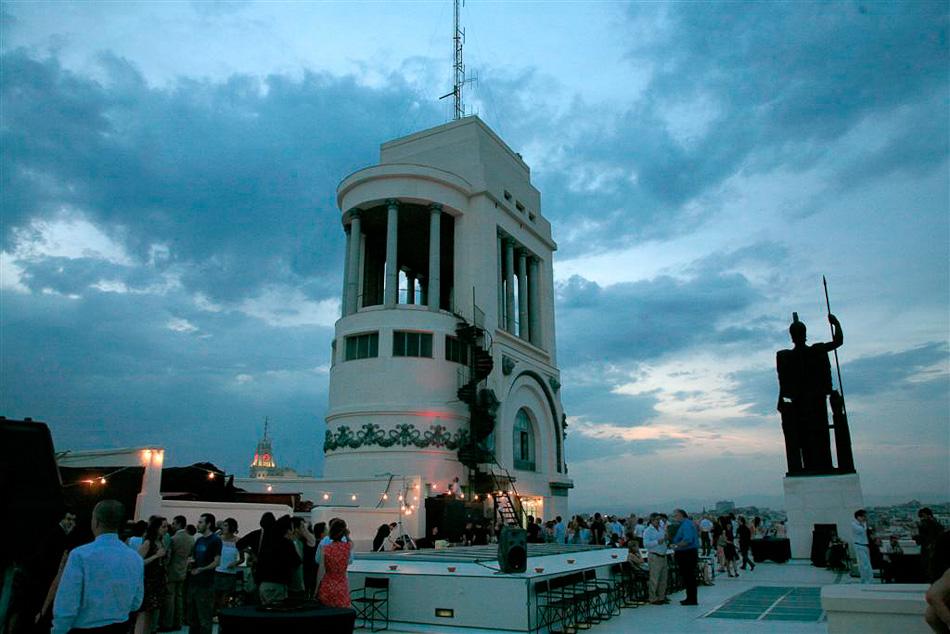 Círculo de Bellas Artes azotea