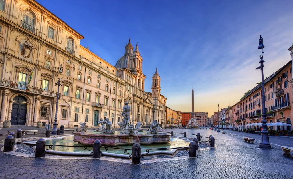 Piazza Navona. Rome. Italy