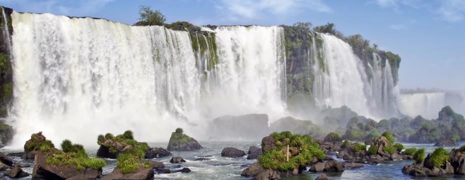 cataratas Iguazú en Brasil