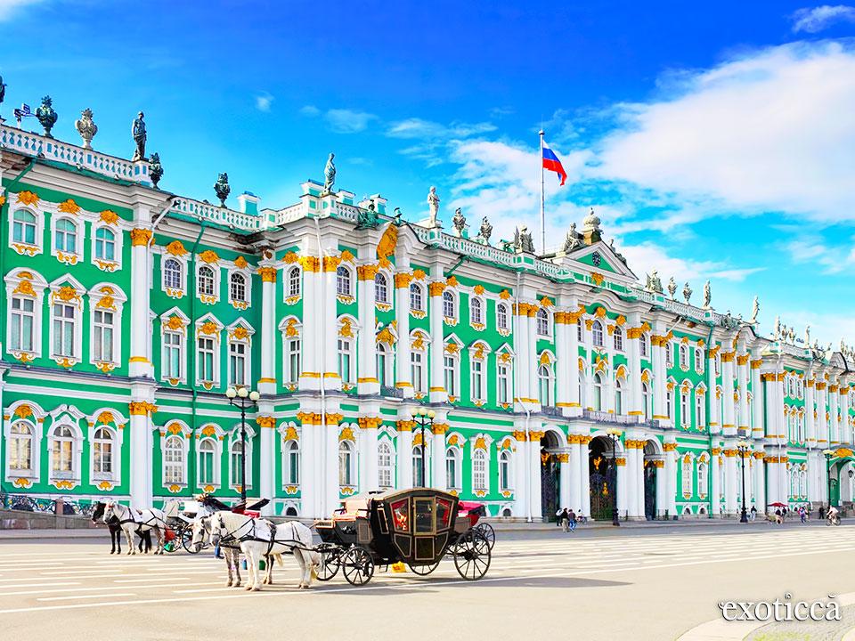 El Museo del Hermitage de San Petersburgo