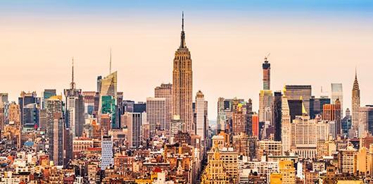 New York City slyline