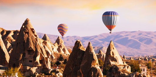 globos volando en turquia