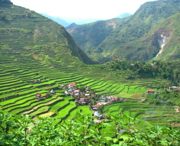 batad village, Filipinas