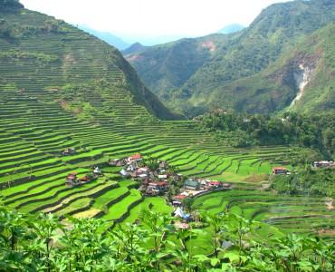 batad village, Filipinas