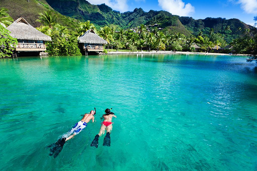 Maldivas, snorkel