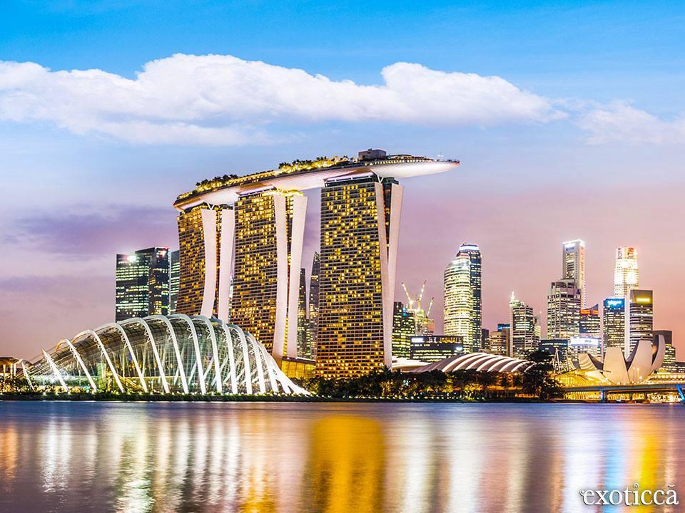 Marina Bay Sans, Singapur