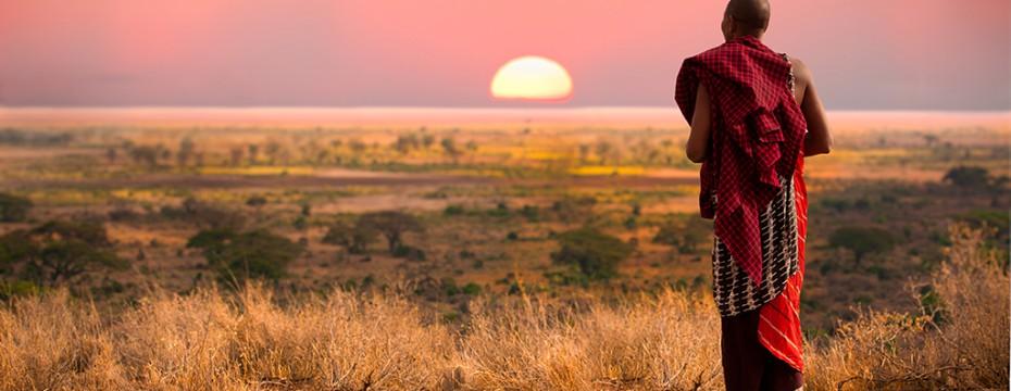 miembro de masai mara en tanzania