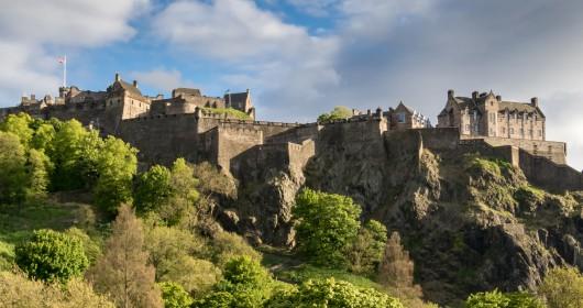 Edinburgh Castle from Princes Street