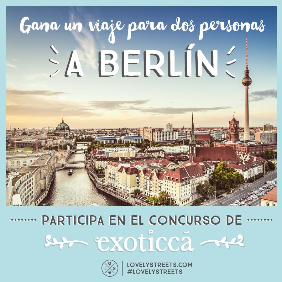 Concurso viaje a Berlín