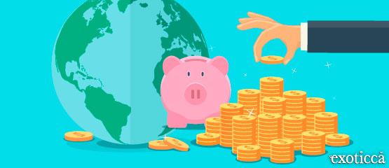 Cambio de divisas, app