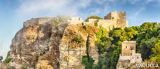 Castillo de Venus en Erice, Italia