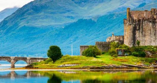 castillo en Edimburgo