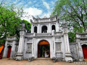 Van Mieu, Vietnam
