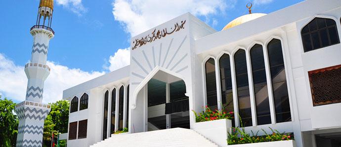 Maldivas mezquita viernes