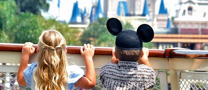 viajar con niños a Disney World