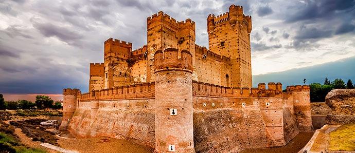 Castillo de La Mota, España