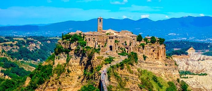 Castillo de Fumone, Italia