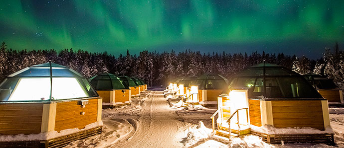 Artic Snow Hotel & Igloos