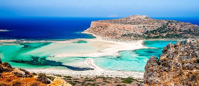 playa Balos, Grecia