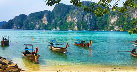 phi phi la isla tailandesa cinematográfica