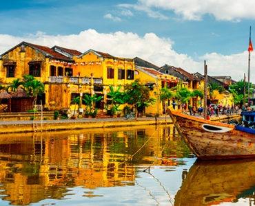 barcos de Hoi An