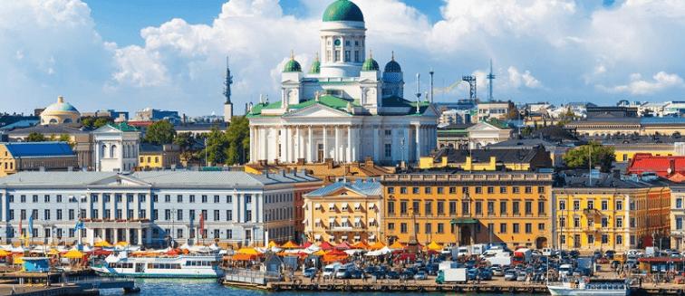 cuándo viajar a Helsinki