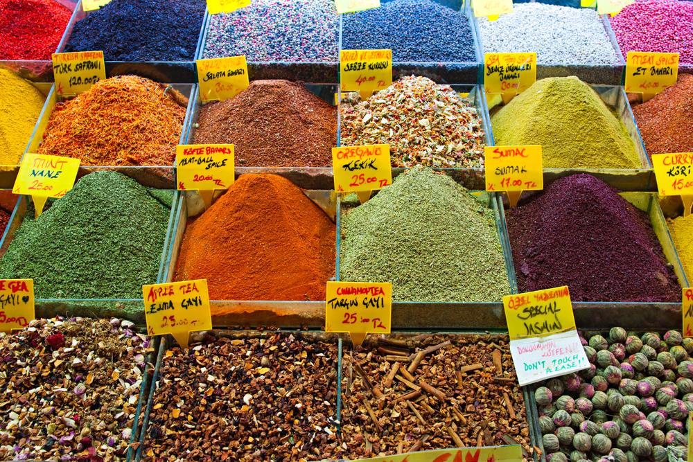 mercados callejeros en Turquía