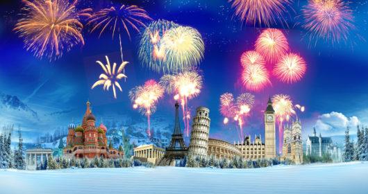 fin de año en el mundo