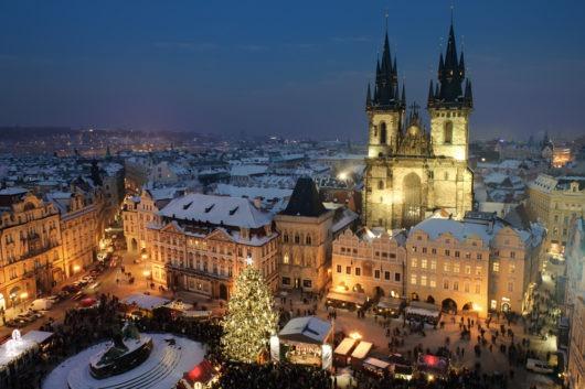 voyager à Noël