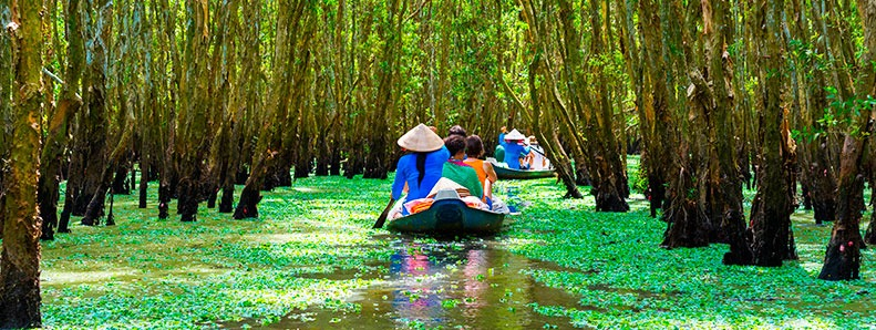 Life on the Mekong Delta, Vietnam