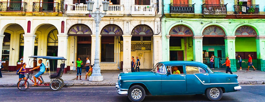 iconic streets in Cuba