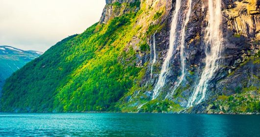 waterfalls in Norway