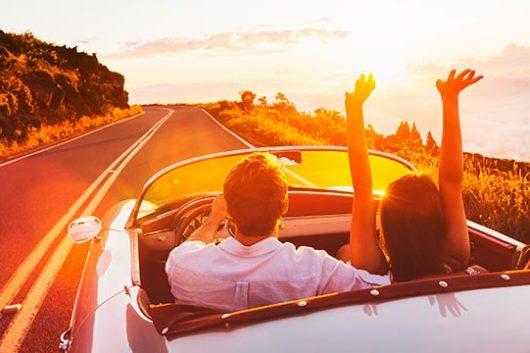 travelling to romantic destinations