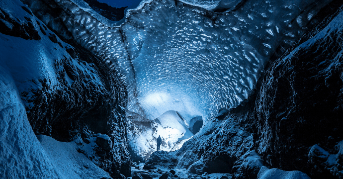 Things to do in Iceland in winter. Visit the ice caves