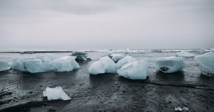 Jokulsarlon & Diamond Beach is one of the best things to visit in Iceland