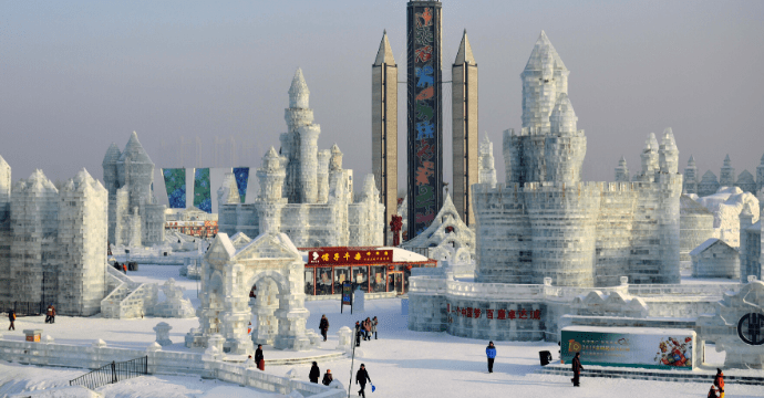 Harbin - one of the coldest cities in the world