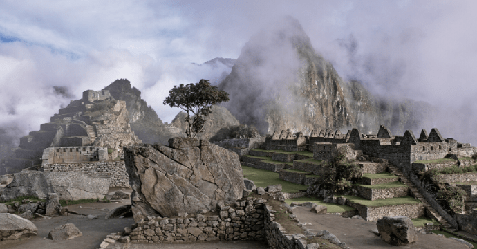 Machu Pichuu high altitude