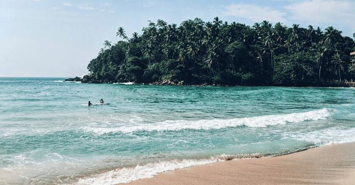 Hiriketiya one of the best beaches in Sri Lanka