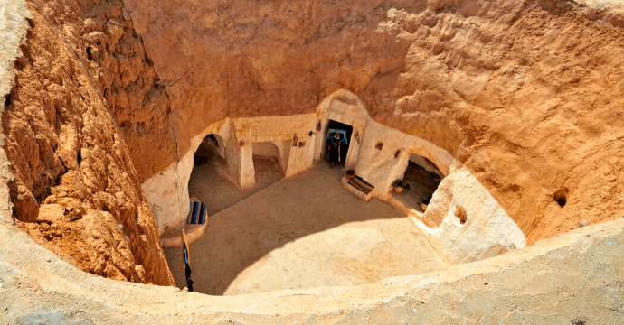 Four Incredible underground towns