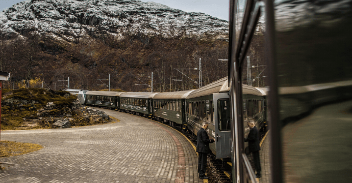 The incredible train journey of Flam, Norway