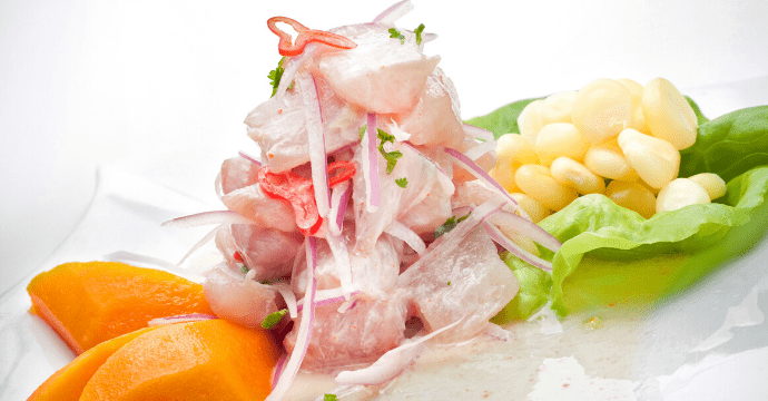 Peru's national dish of Ceviche is the food of choice in Lima.