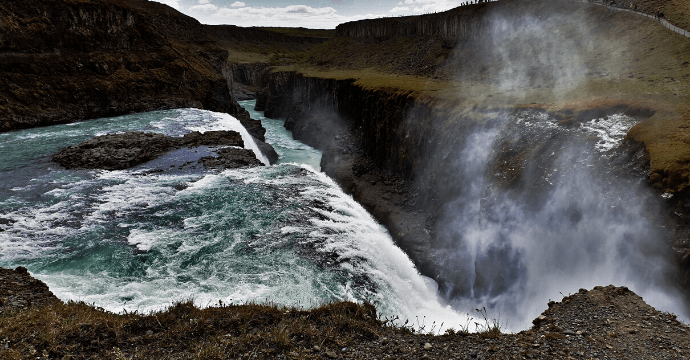 The Gullfoss waterfall is unmissable on a trip to the land of fire and ice