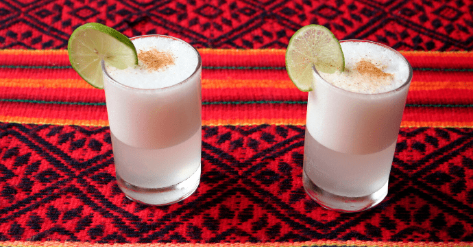 Make a pisco sour while staying at home